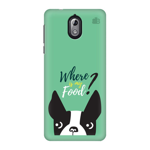 Where is my Food Nokia 3 Phone Cover