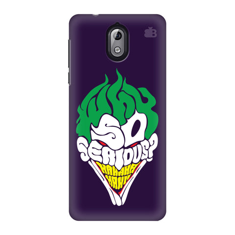 Why So Serious Nokia 3 Phone Cover