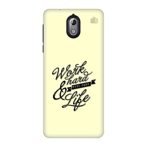 Work Hard Nokia 3 Phone Cover