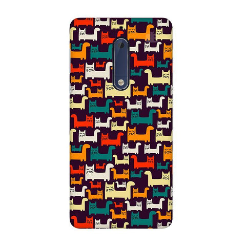 Chill Cats Nokia 5 Phone Cover