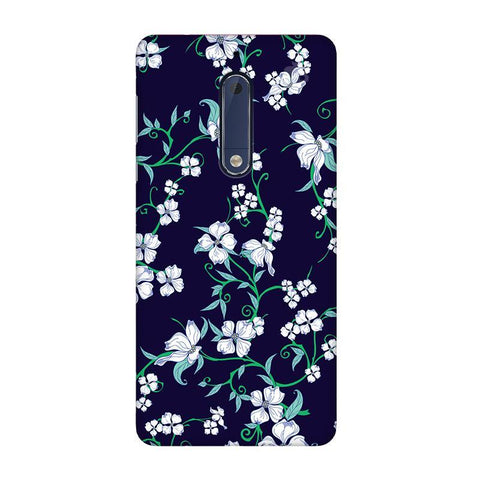 Dogwood Floral Pattern Nokia 5 Phone Cover
