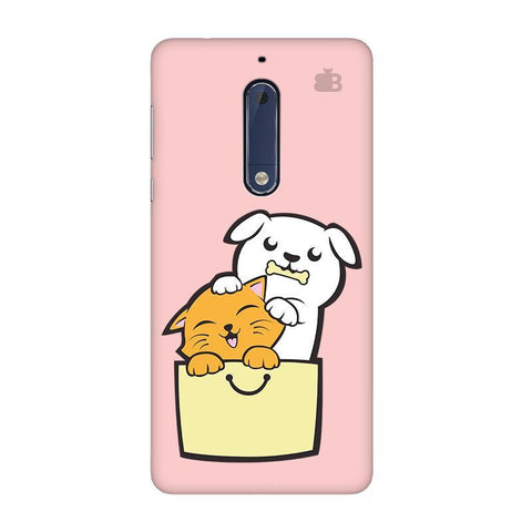 Kitty Puppy Buddies Nokia 5 Phone Cover