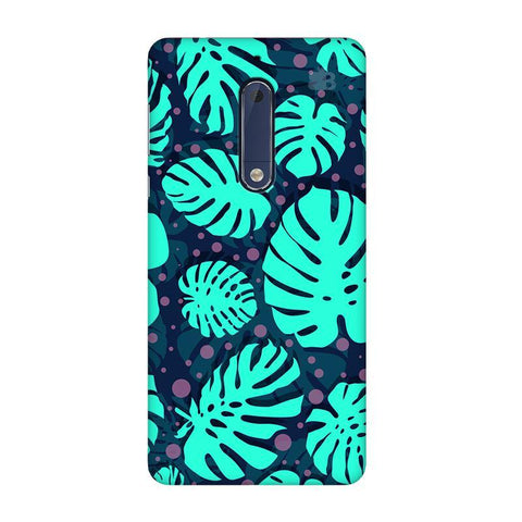 Tropical Leaves Pattern Nokia 5 Phone Cover