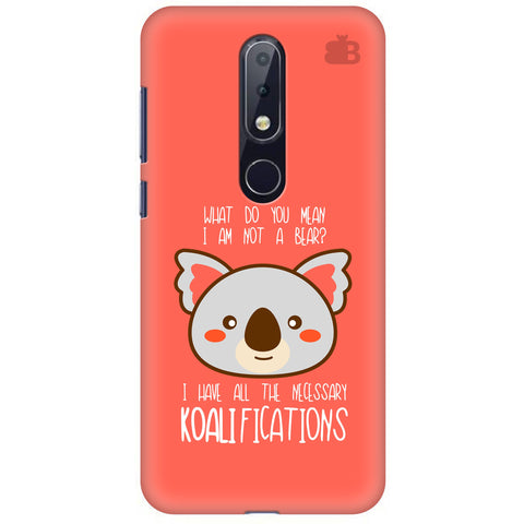 Koalifications Nokia 6.1 Plus Cover