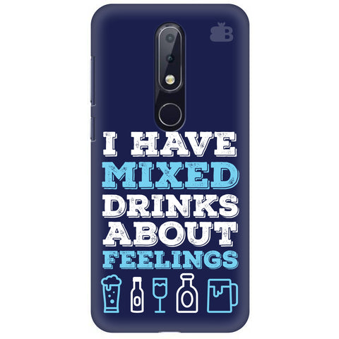 Mixed Drinks Nokia 6.1 Plus Cover