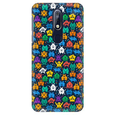 16 Bit Pattern Nokia 7.1 Cover