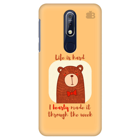 Bearly Made It Nokia 7.1 Cover