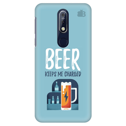 Beer Charged Nokia 7.1 Cover