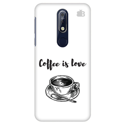Coffee is Love Nokia 7.1 Cover