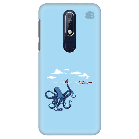 Decepetive Octopus Nokia 7.1 Cover