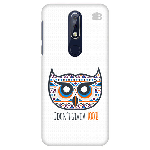 Dont give a Hoot Nokia 7.1 Cover
