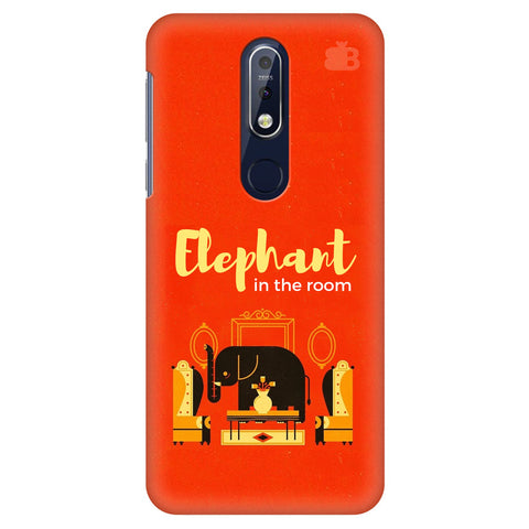 Elephant in the room Nokia 7.1 Cover