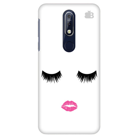 Lashes and Lips Nokia 7.1 Cover