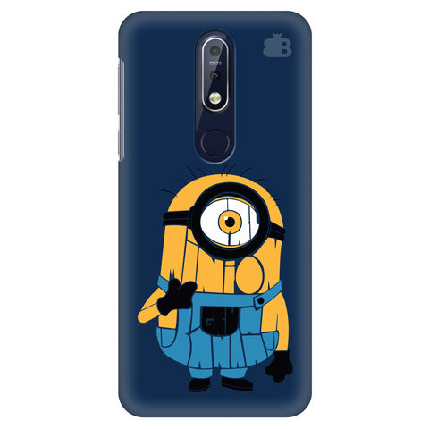Minion Typography Nokia 7.1 Cover
