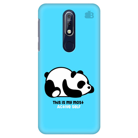 Most Active Panda Nokia 7.1 Cover