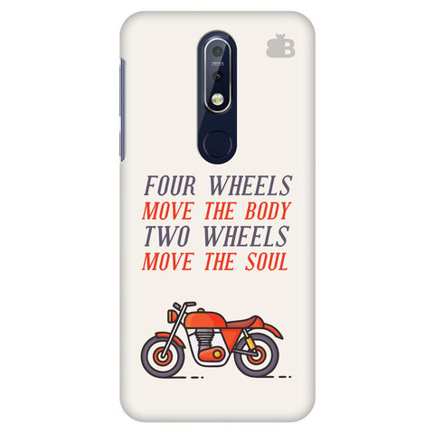 Motorcyclist Nokia 7.1 Cover