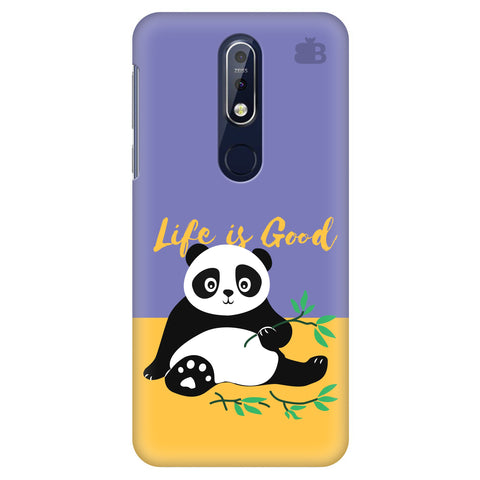 Panda Life is Good Nokia 7.1 Cover