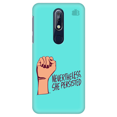 She Persisted Nokia 7.1 Cover