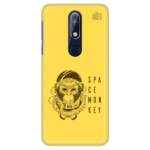 Space Monkey Nokia 7.1 Cover