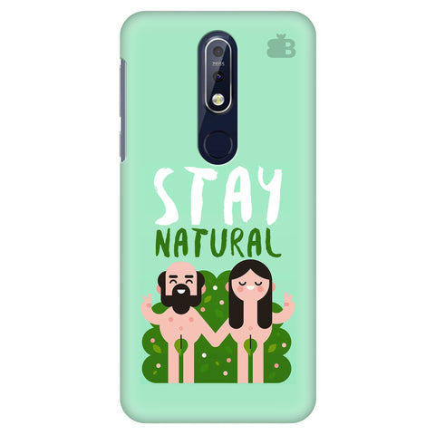 Stay Natural Nokia 7.1 Cover