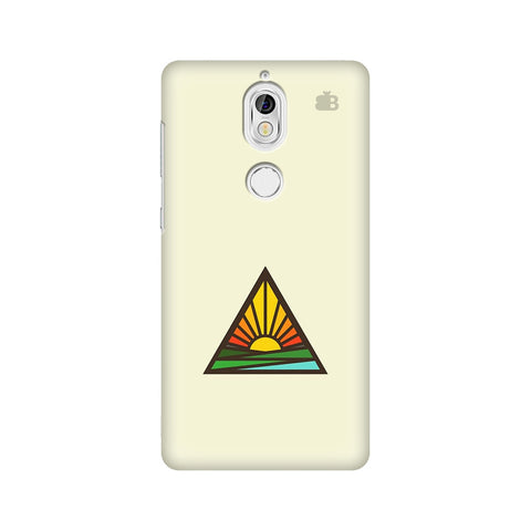 Triangular Sun Nokia 7 Cover