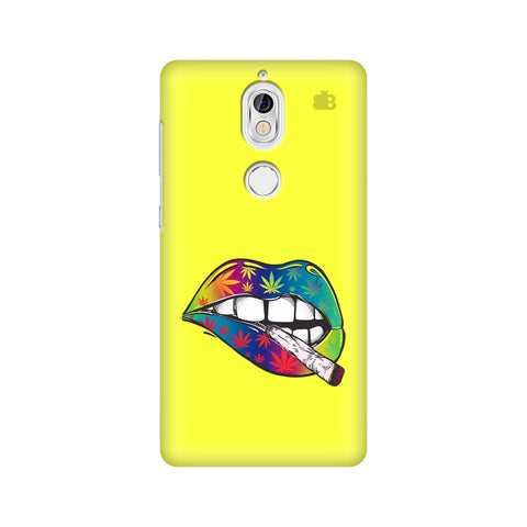 Trippy Lips Nokia 7 Cover
