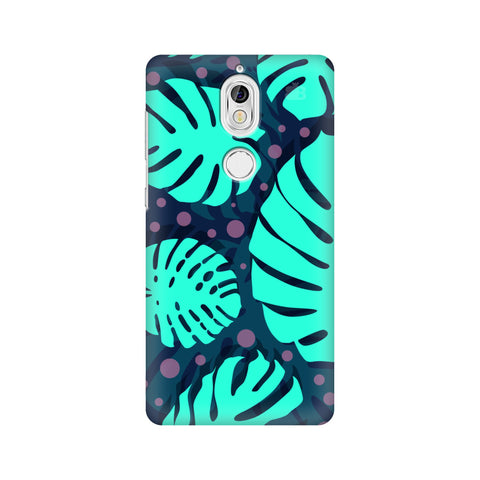 Tropical Leaves Pattern Nokia 7 Cover