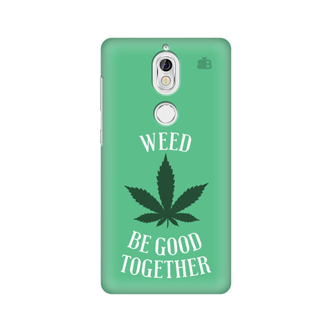 Weed be good Together Nokia 7 Cover
