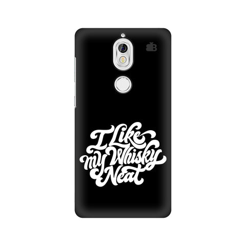 Whiskey Neat Nokia 7 Cover