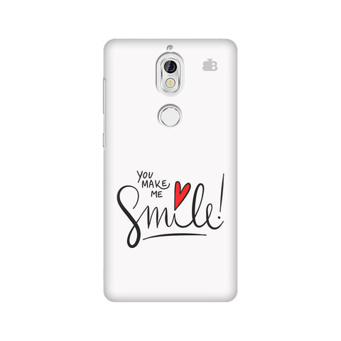 You make me Smile Nokia 7 Cover