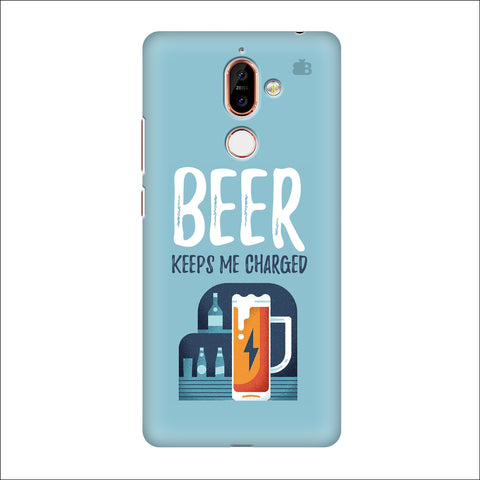 Beer Charged Nokia 7 Plus Cover