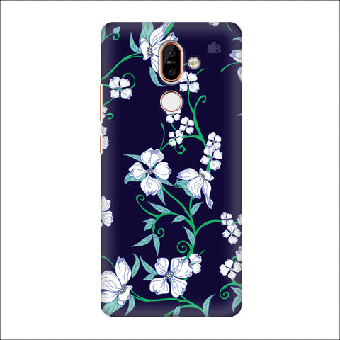 Dogwood Floral Pattern Nokia 7 Plus Cover
