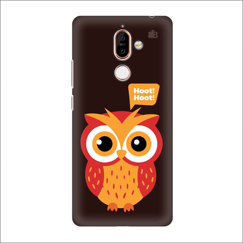 Hoot Hoot Nokia 7 Plus Cover