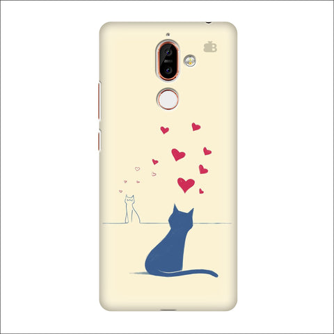 Kitty in Love Nokia 7 Plus Cover