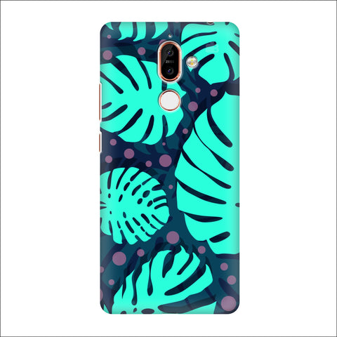 Tropical Leaves Pattern Nokia 7 Plus Cover