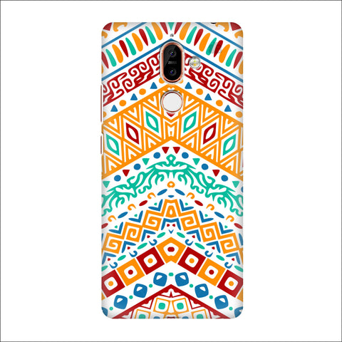 Wavy Ethnic Art Nokia 7 Plus Cover