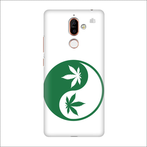 Weed Yin Yang Nokia 7 Plus Cover