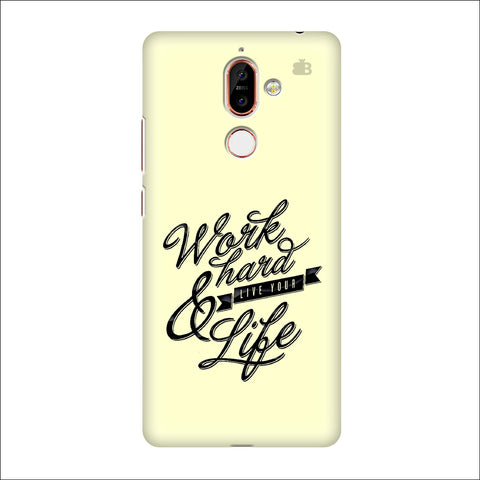 Work Hard Nokia 7 Plus Cover