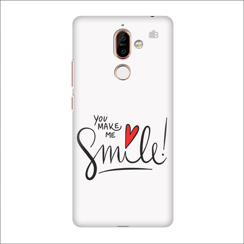 You make me Smile Nokia 7 Plus Cover