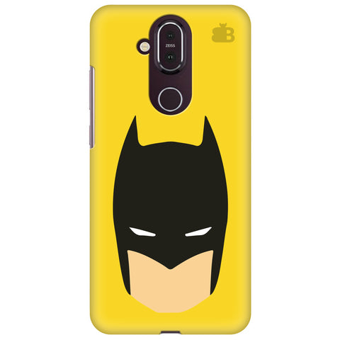 Angry Masked Superhero Nokia 8.1 Cover