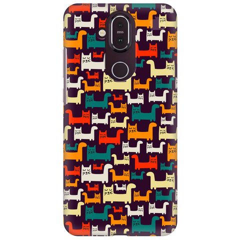 Chill Cats Nokia 8.1 Cover