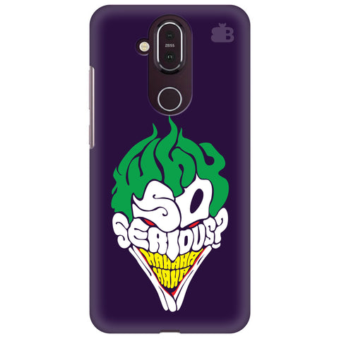 Why So Serious Nokia 8.1 Cover