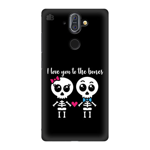 Love to the Bones Nokia 8 Sirocco Cover