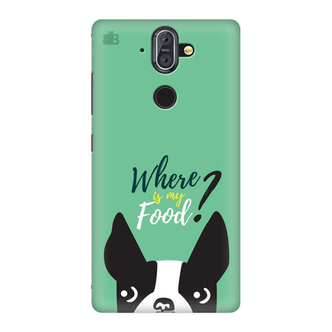 Where is my Food Nokia 8 Sirocco Cover