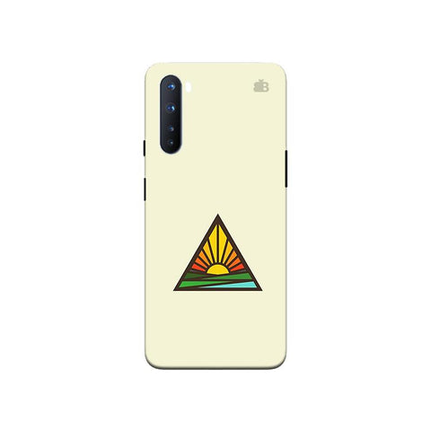 Triangular Sun OnePlus Nord Phone Cover