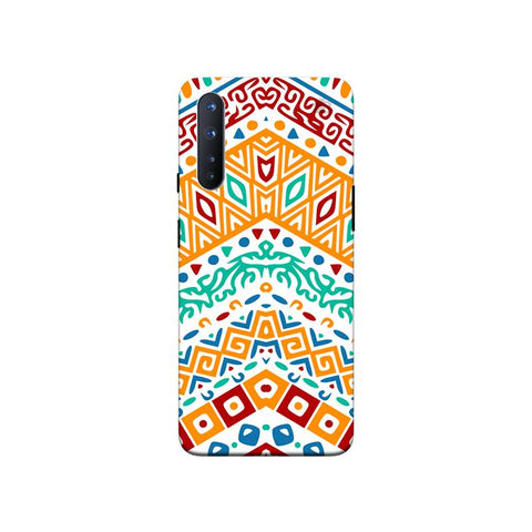 Wavy Ethnic Art OnePlus Nord Phone Cover