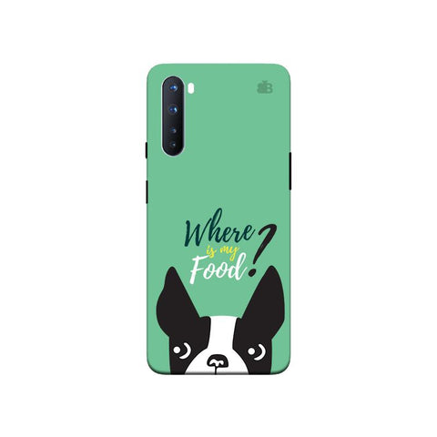 Where is my Food OnePlus Nord Phone Cover