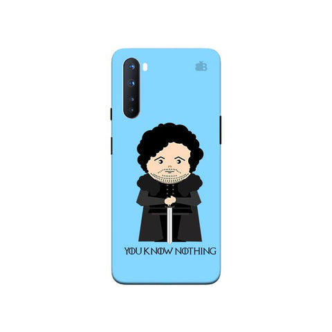 You Know Nothing OnePlus Nord Phone Cover