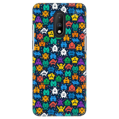 16 Bit Pattern OnePlus 7 Cover