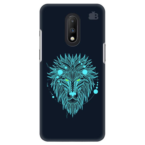 Abstract Art Lion OnePlus 7 Cover